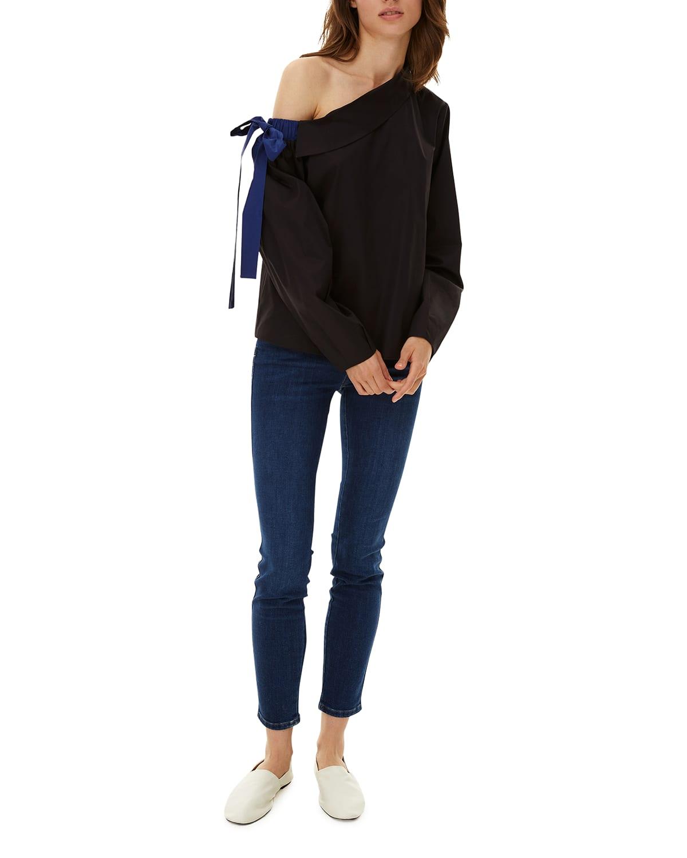 Liana One-Shoulder Blouse