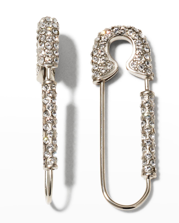 Men's G Clip Safety Pin Earrings