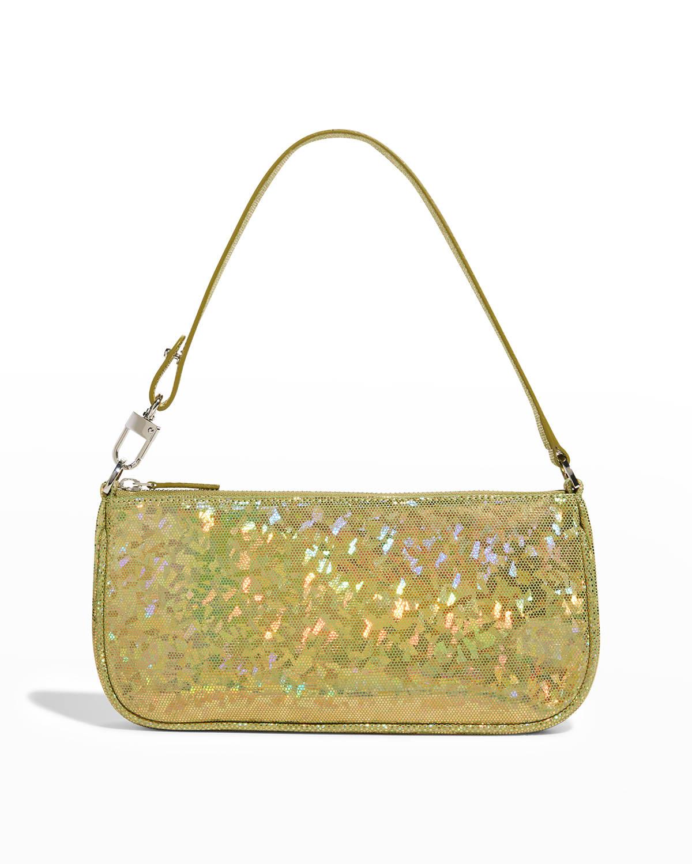 Rachel Hologram Leather Shoulder Bag