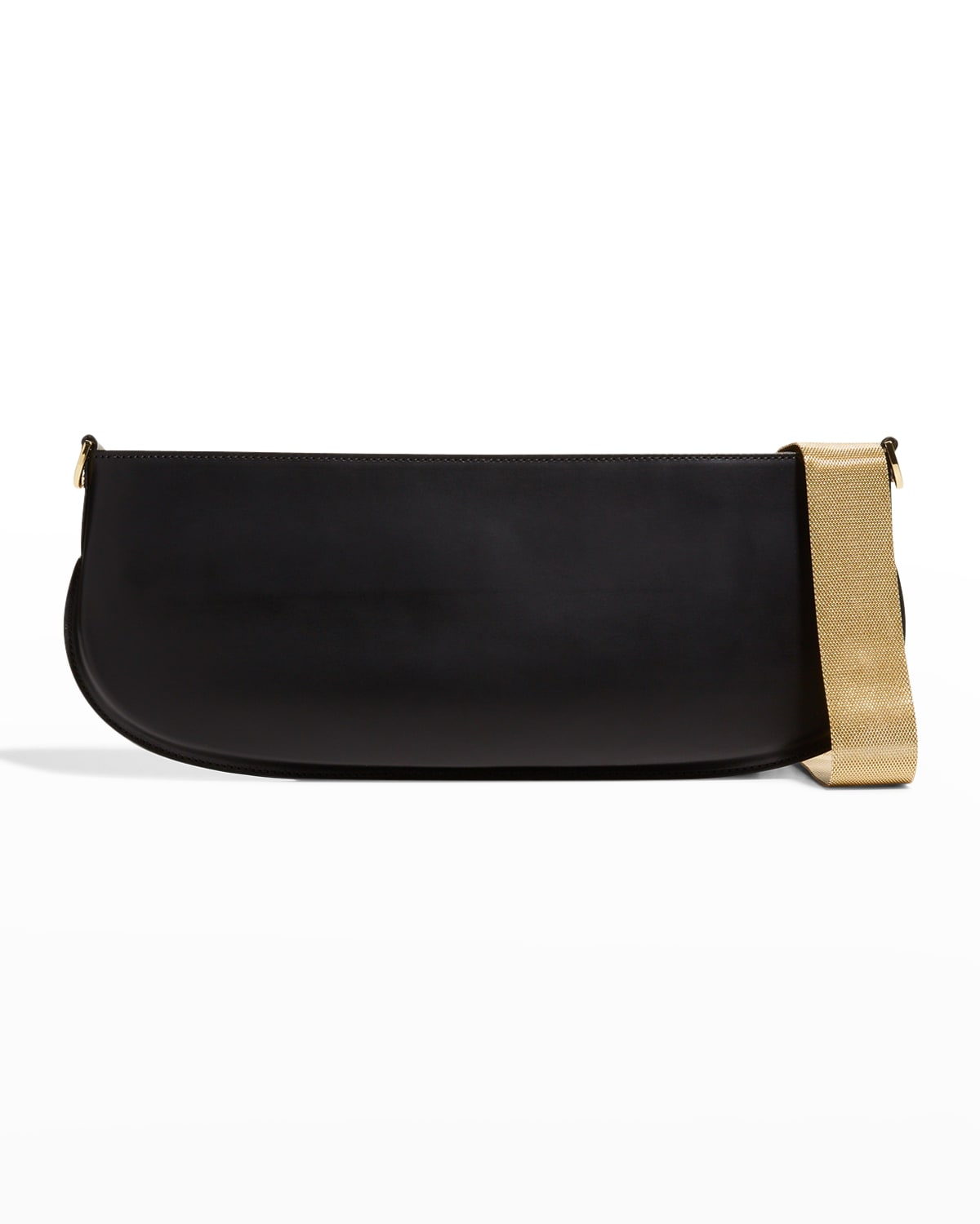 Beverly Smooth Leather Chain Shoulder Bag