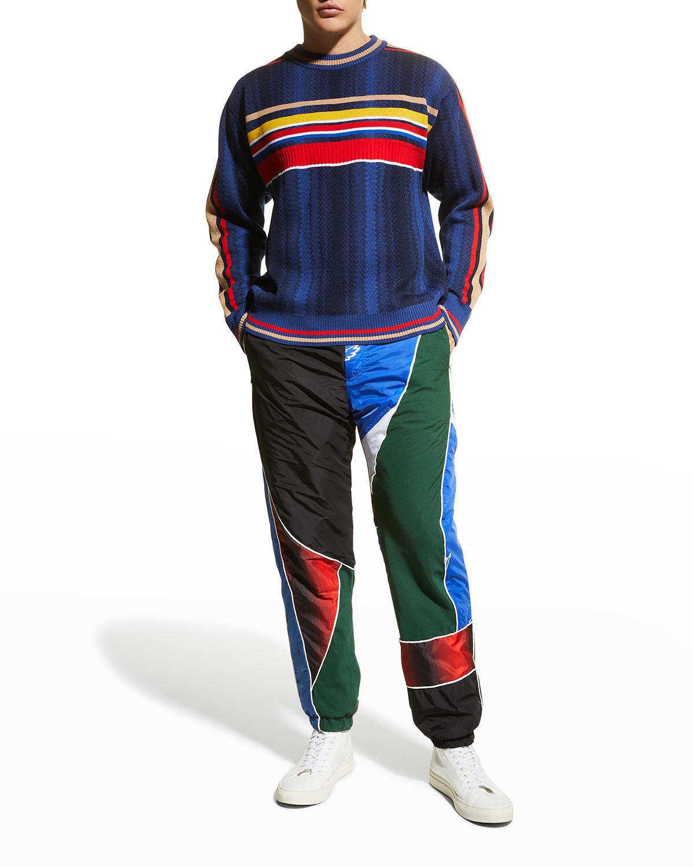 Men's Deep Sea Wool Knit Sweater