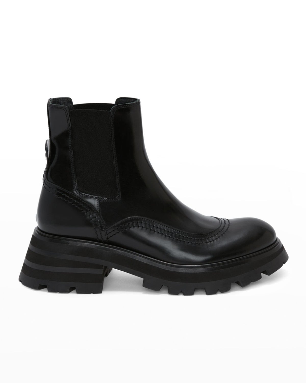 Wander Leather Chelsea Booties