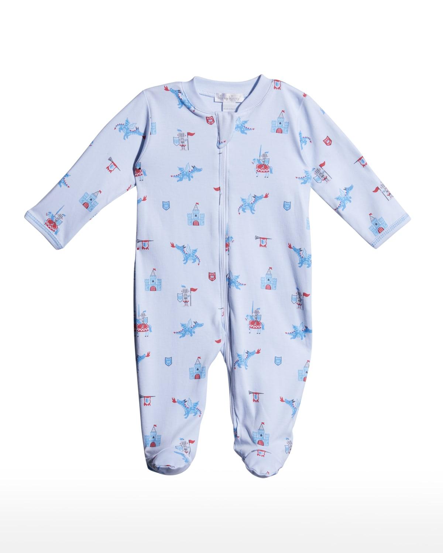 Boy's Mighty Dragons Footie Pajamas