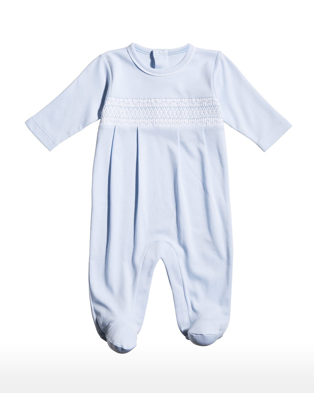 Boy's CLB Fall Embroidered Footie Pajamas