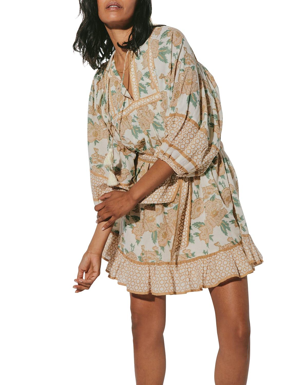 Magdalena Belted Mini Dress