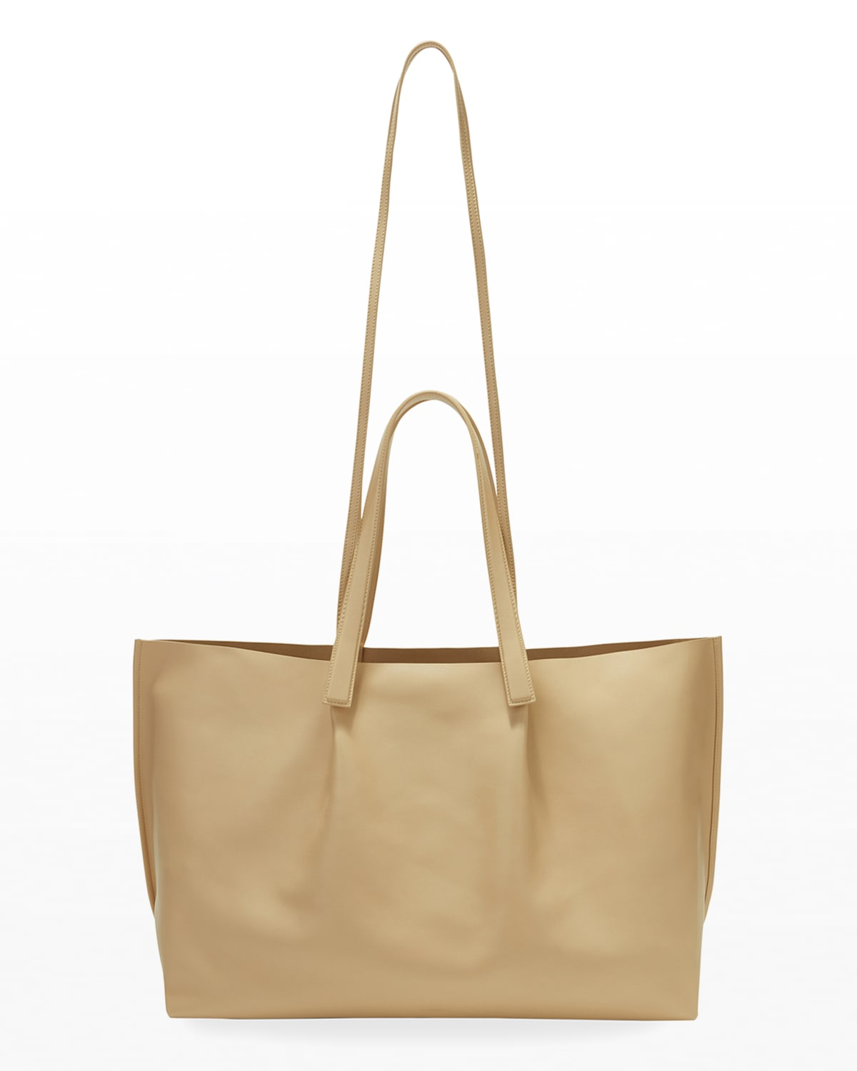 Origami Leather Tote Bag