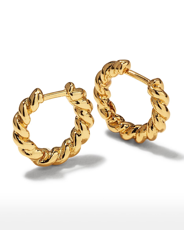 Petra Huggie Hoop Earrings
