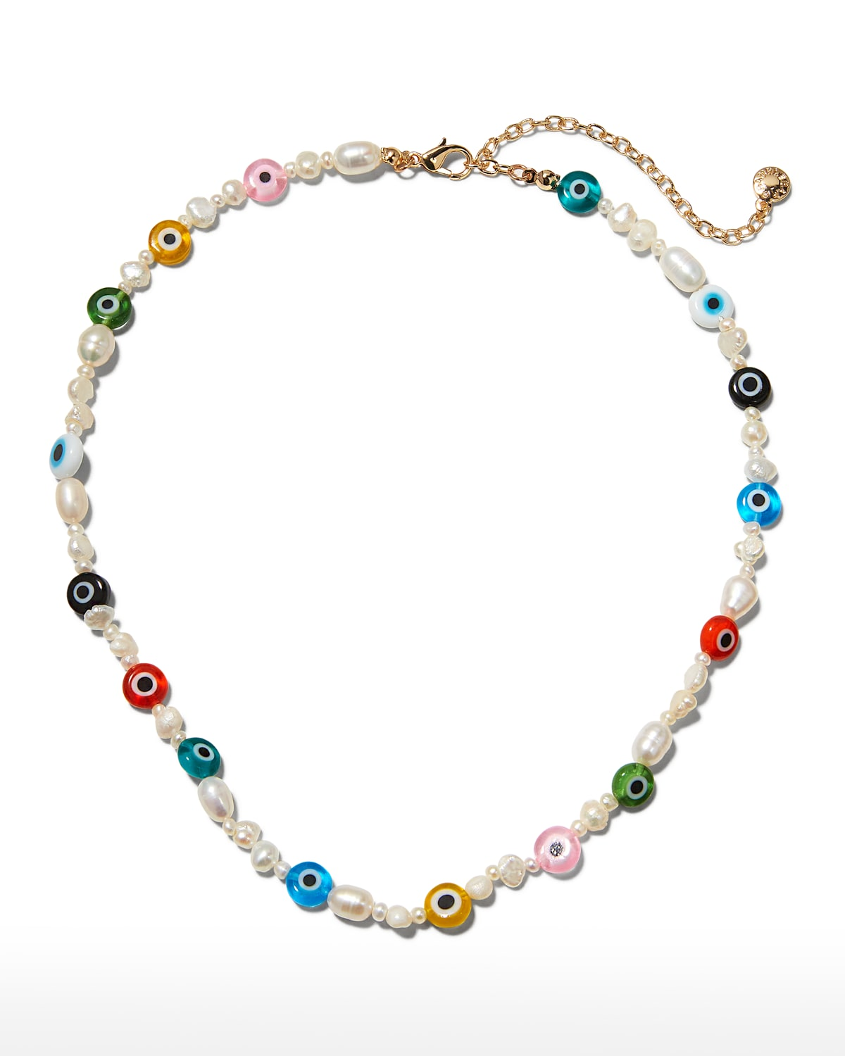 Eloisa Simulated Pearl Bead Necklace