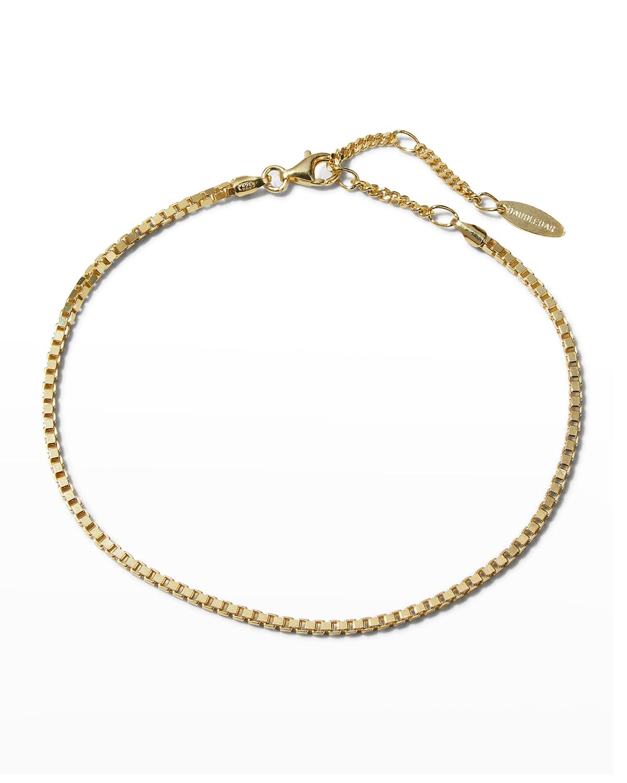 Alexa 14k Gold Vermeil Ankle Bracelet
