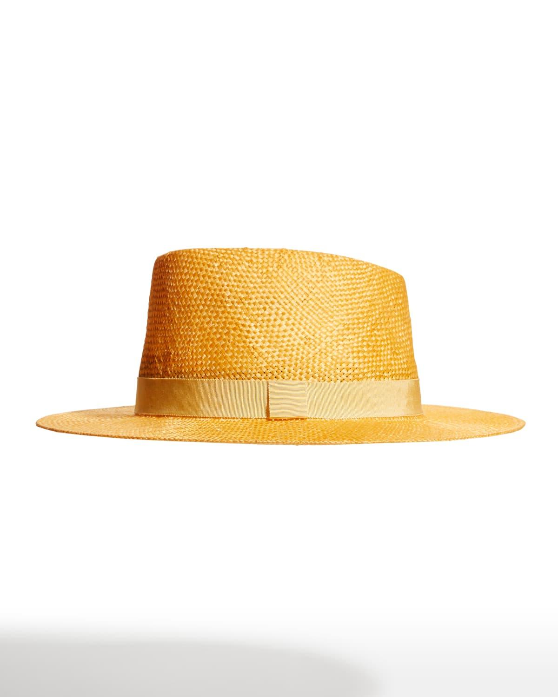 Blaine Sisal Fedora Hat