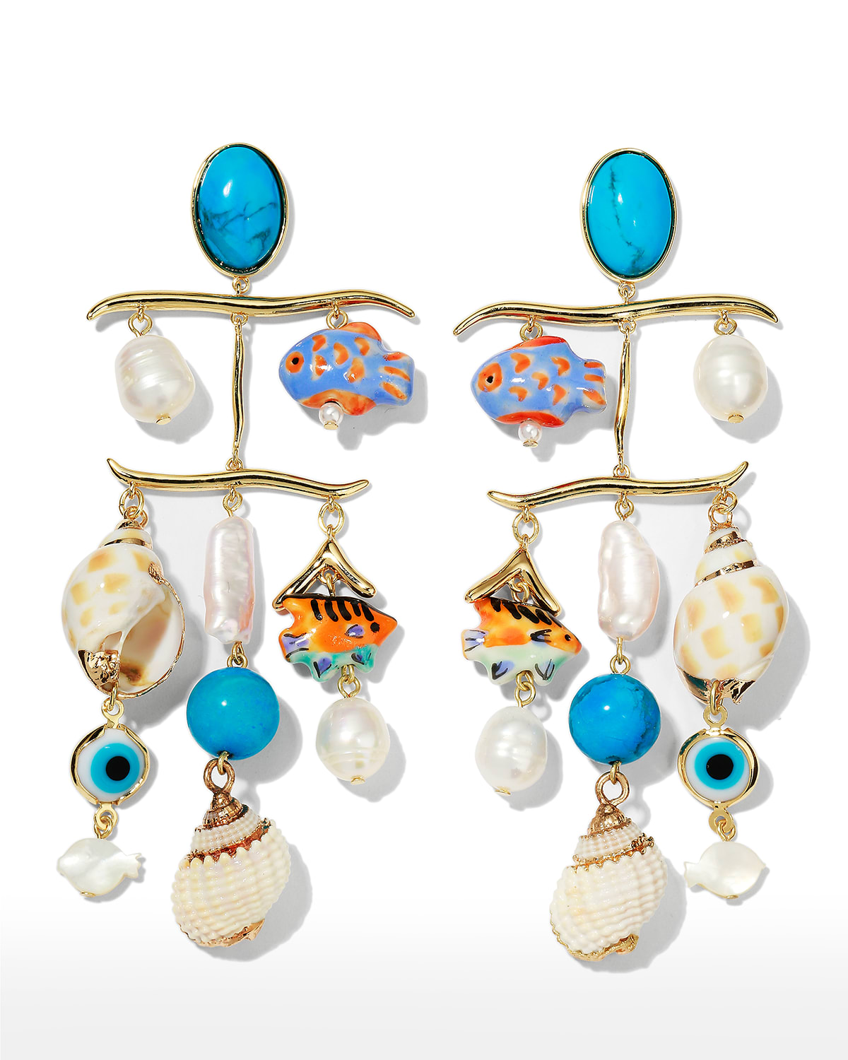 Andros Charm Earrings