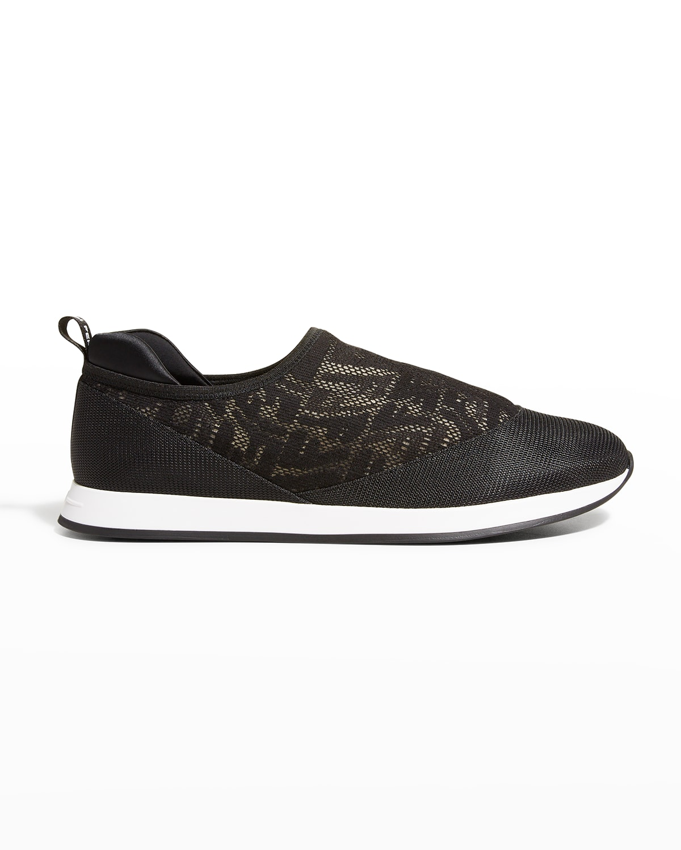 FF Logo Slip-On Runner Sneakers