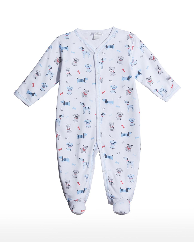 Boy's Furr-Ever Footie Pajamas