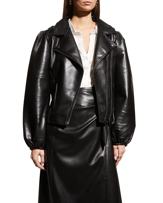 Mercury Recycled Leather Jacket