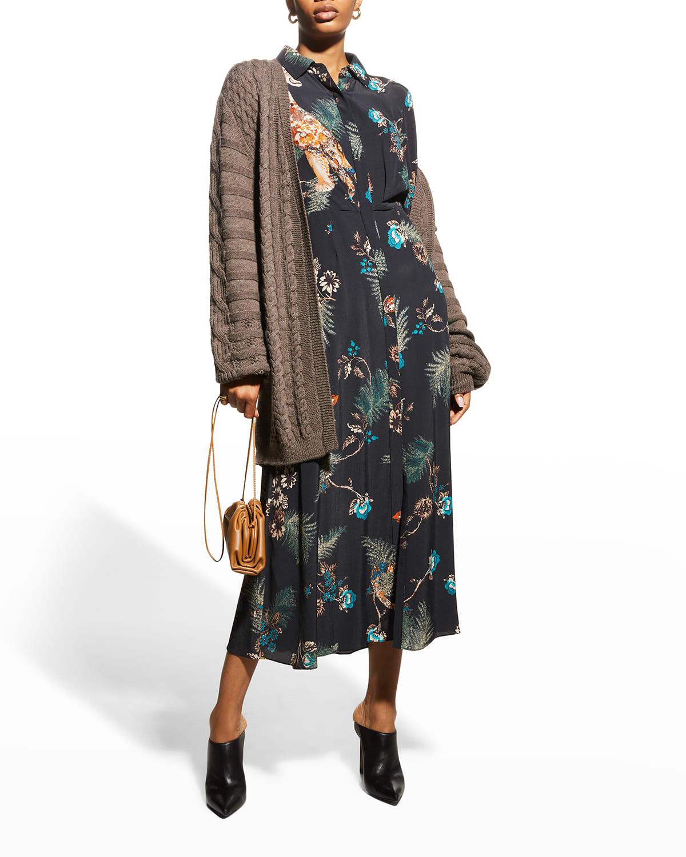 Amada Floral-Print Dress