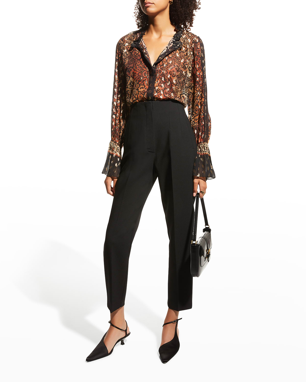Dayna Printed Blouse