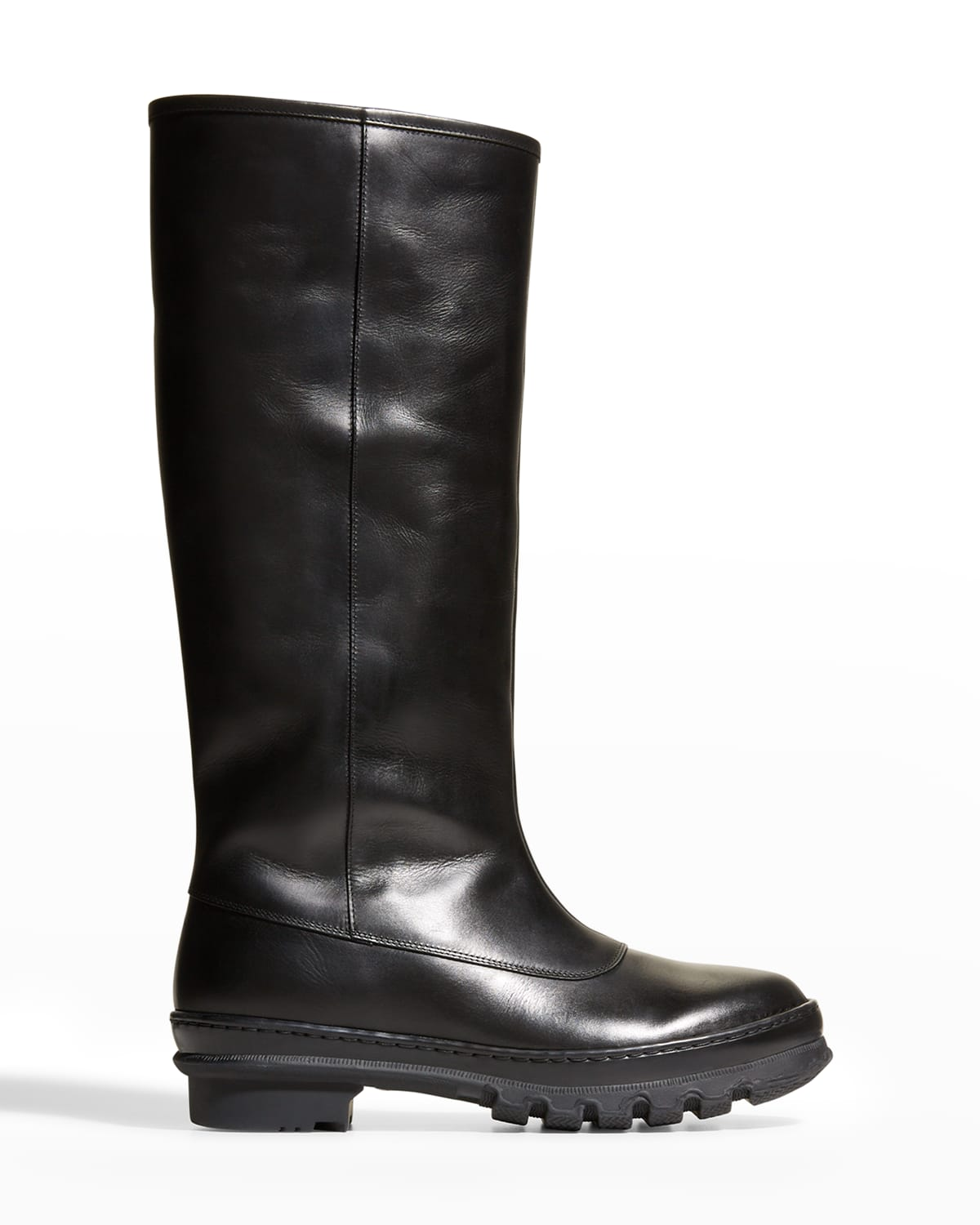 Garden Napa Leather Tall Boots