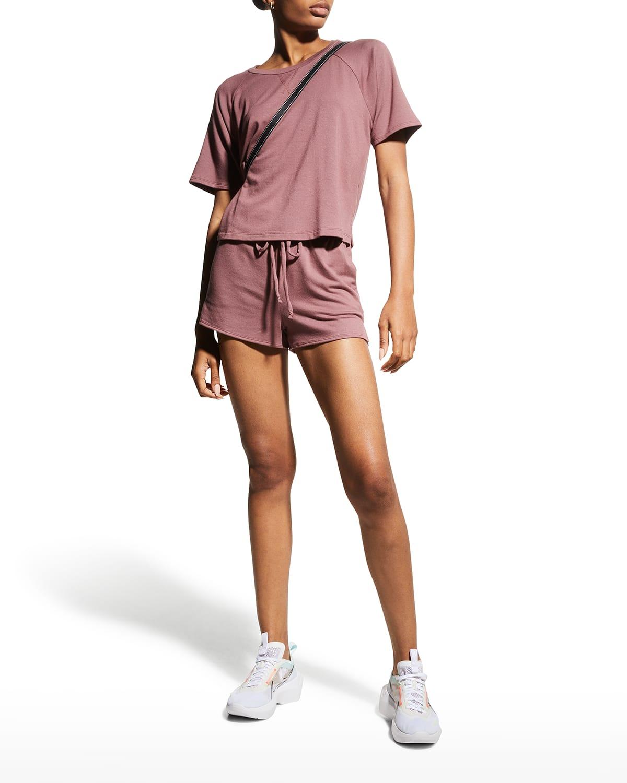Weekend Short-Sleeve Pullover Top