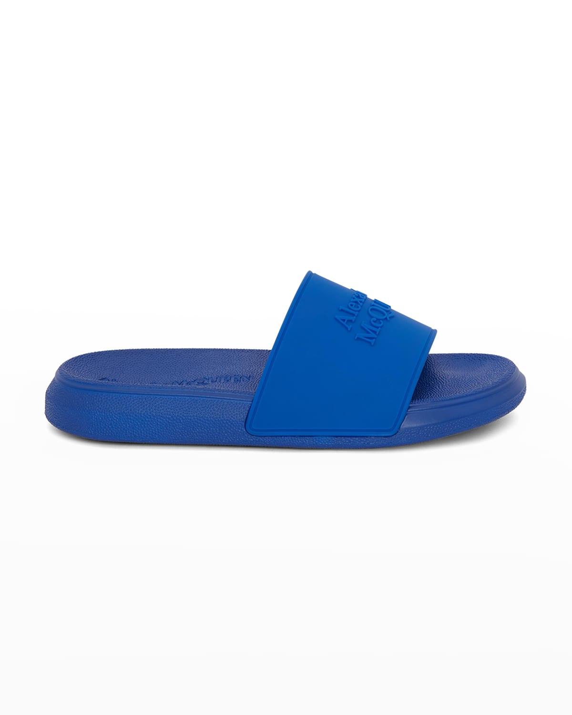 Hybrid Logo Pool Slide Sandals
