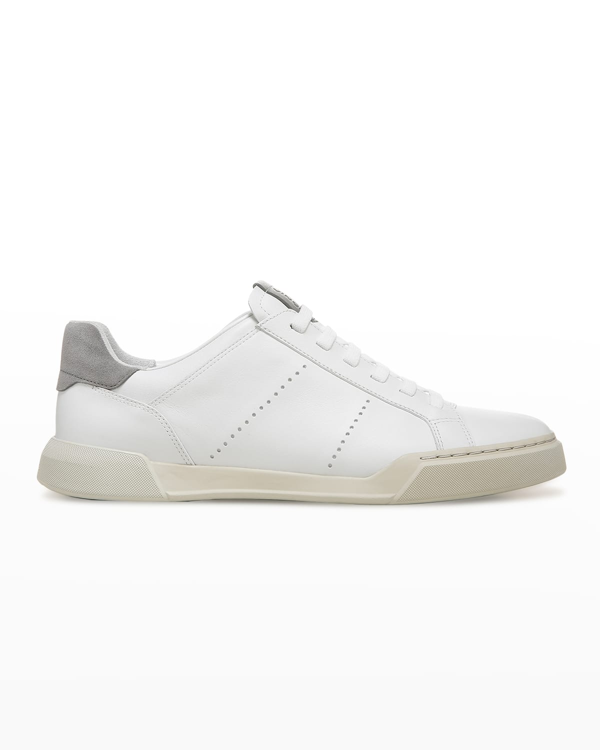 Men's Mason Perforated Leather Low-Top Sneakers
