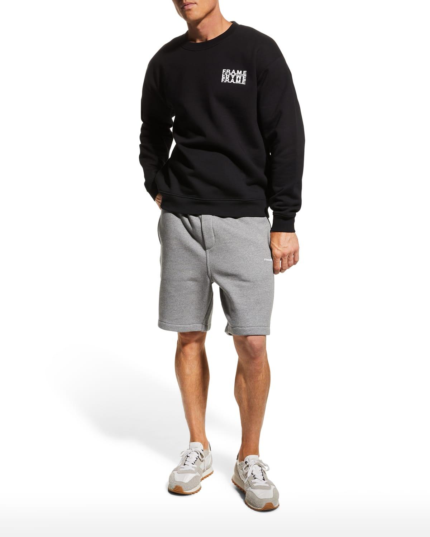 Men's Graphic Logo Crew Sweatshirt
