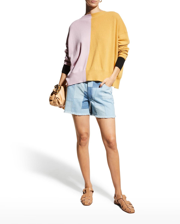 Mixed Bag Cutoff Shorts