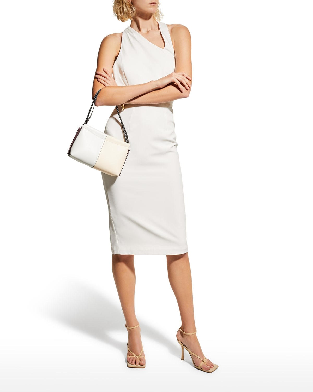 Nova Asymmetric Cutout-Back Dress