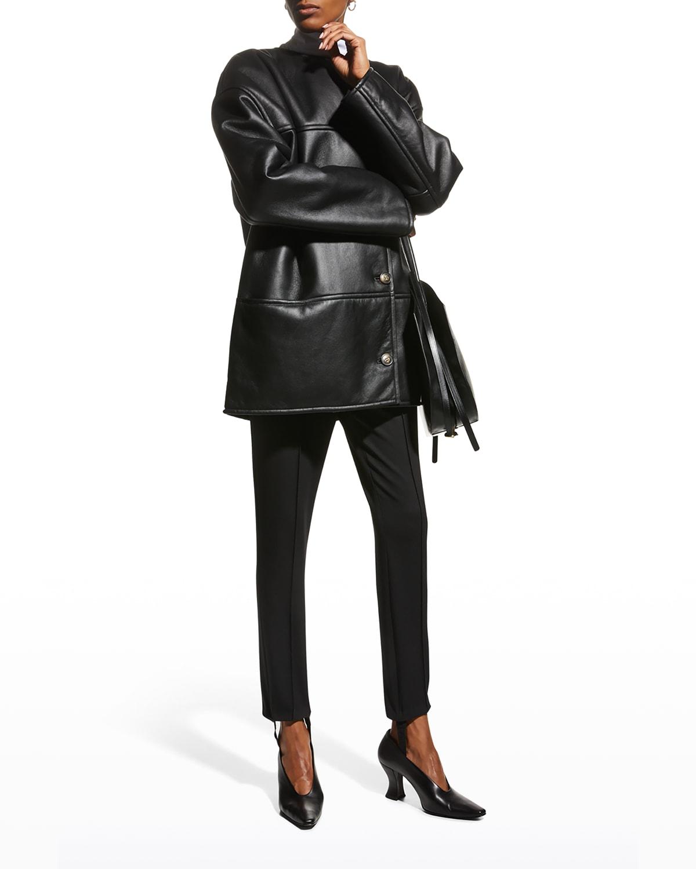 Pelado Shearling Leather Coat