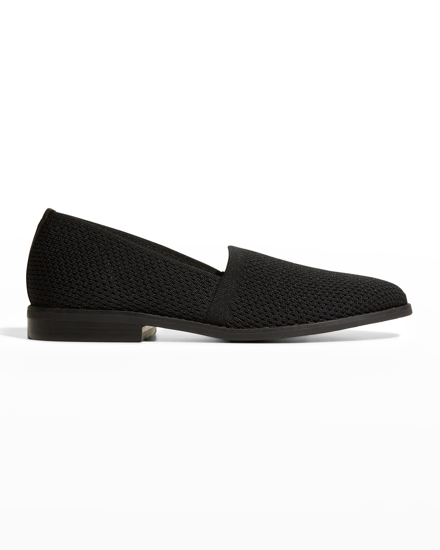 Demi Stretch Knit Flat Loafers