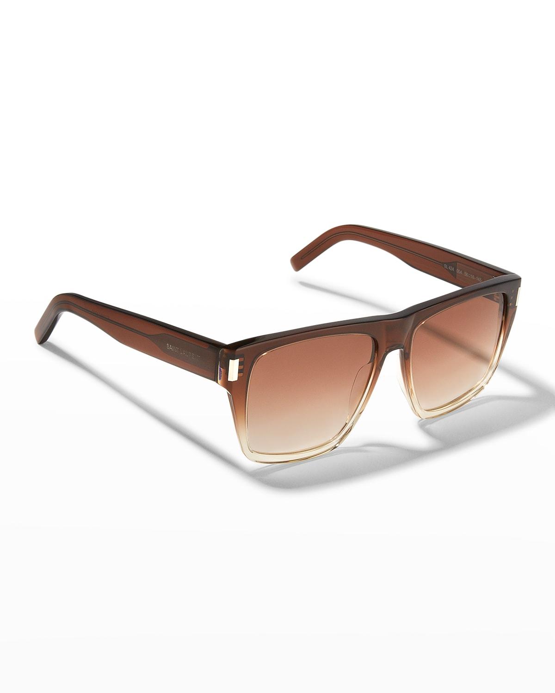 SL 424 Rectangle Acetate Sunglasses