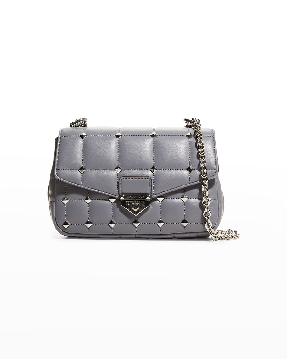 Soho Quilted Stud Lambskin Small Shoulder Bag