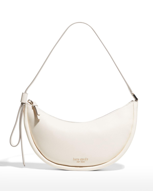 smile small leather shoulder bag