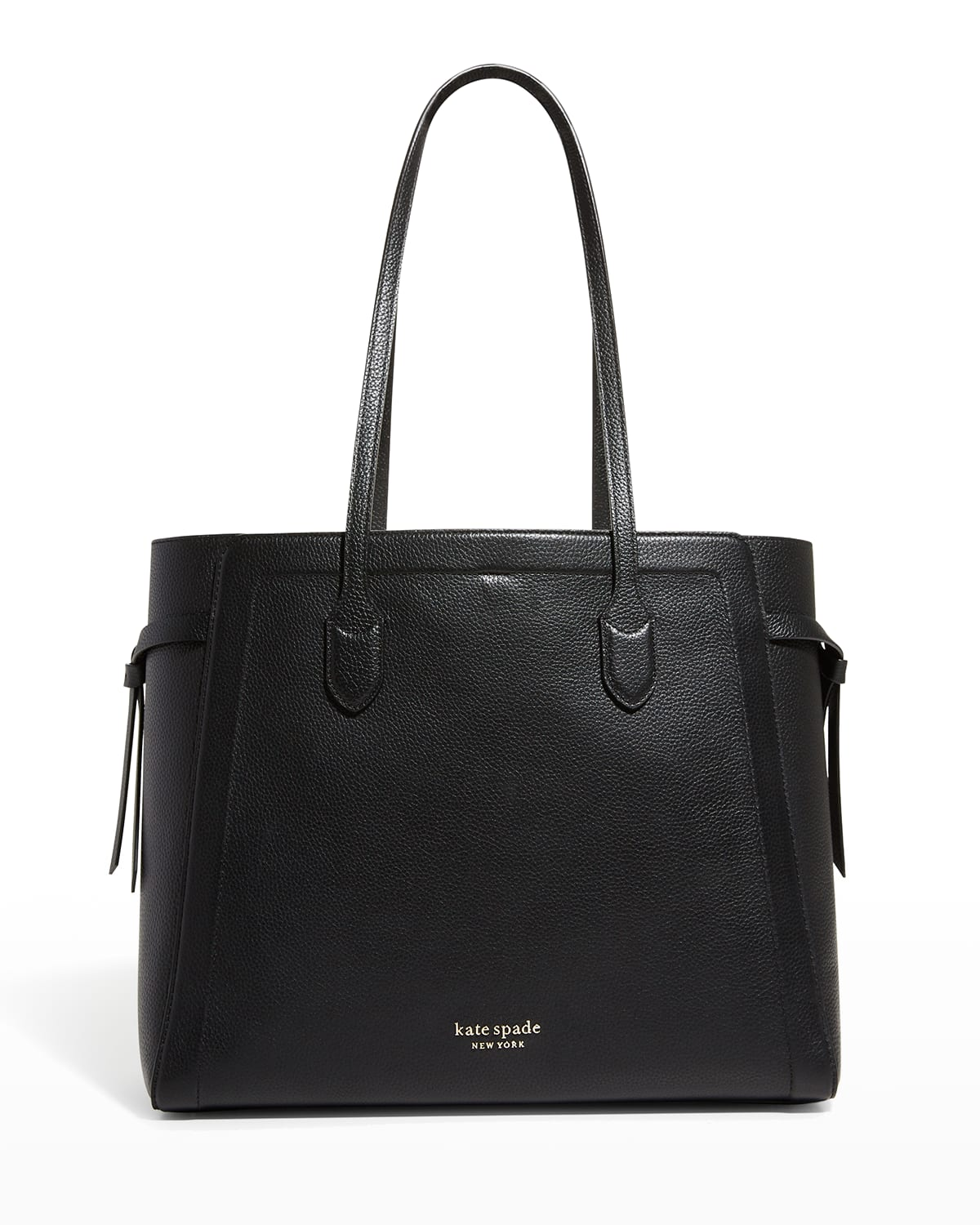 knott large leather tote bag
