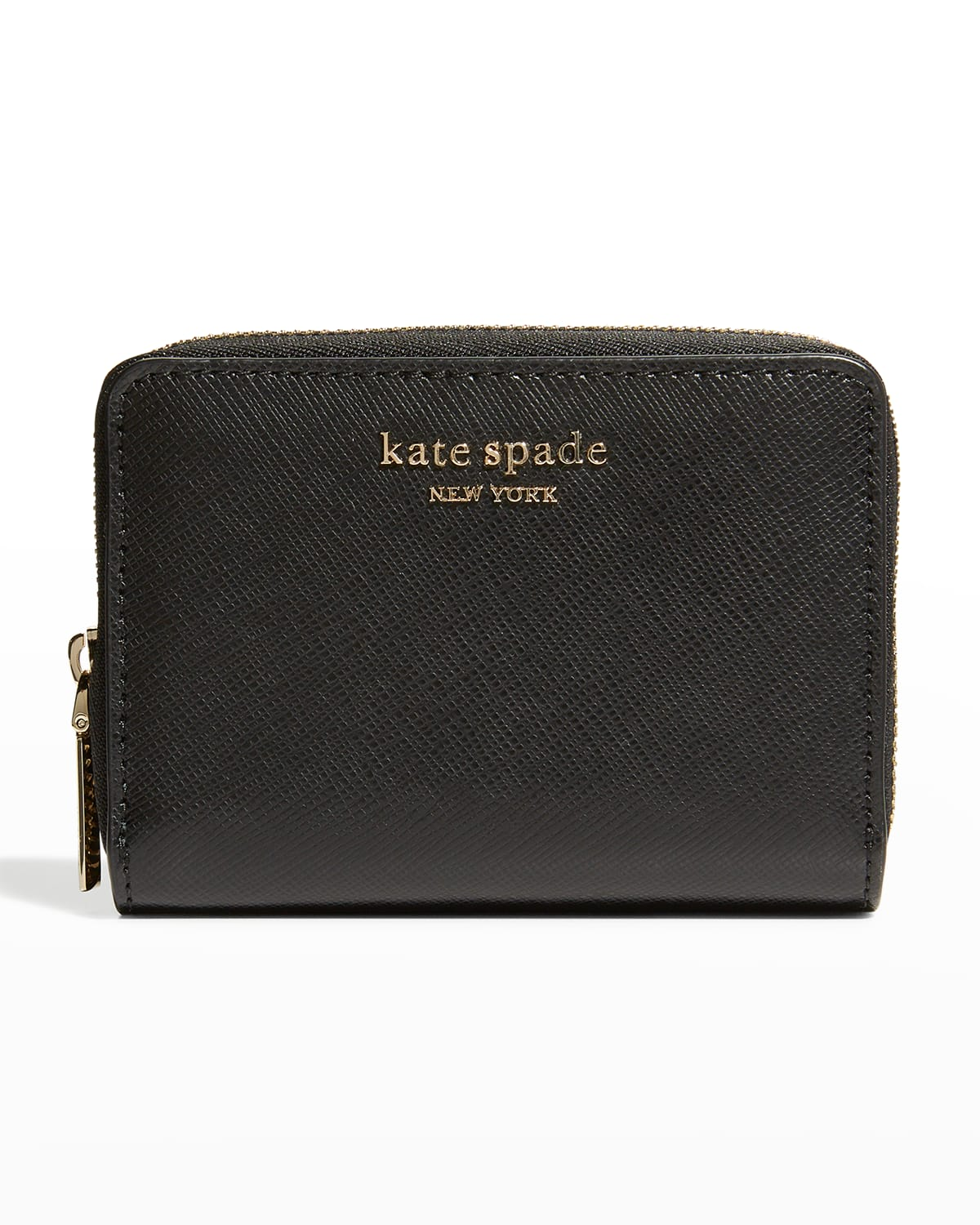 spencer leather zip card case