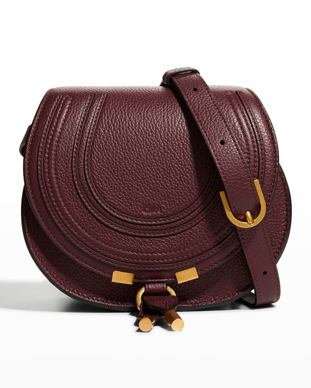 Marcie Small Saddle Crossbody Bag