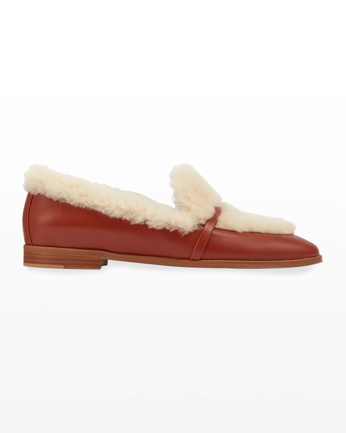 Lia 2 Shearling Leather Loafers