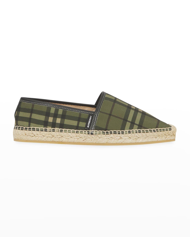 Alport Vintage Check Espadrille Loafers