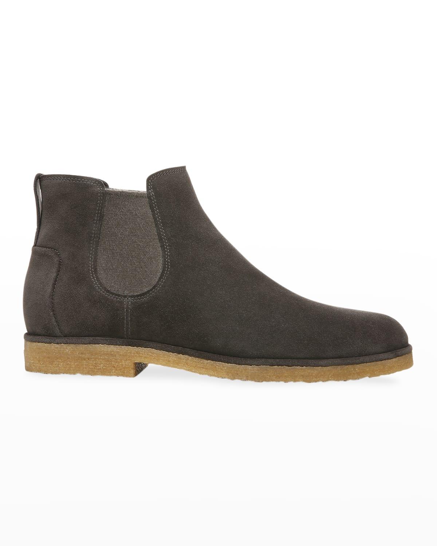 Men's Bonham Water-Repellant Suede Chelsea Boots