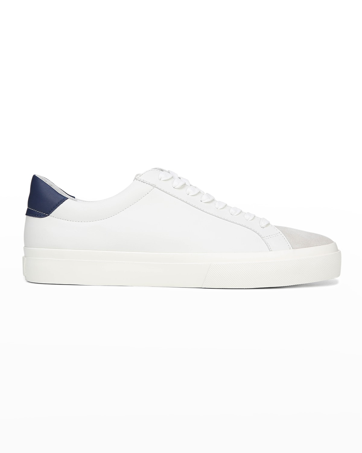 Men's Fulton Mix-Leather Low-Top Sneakers