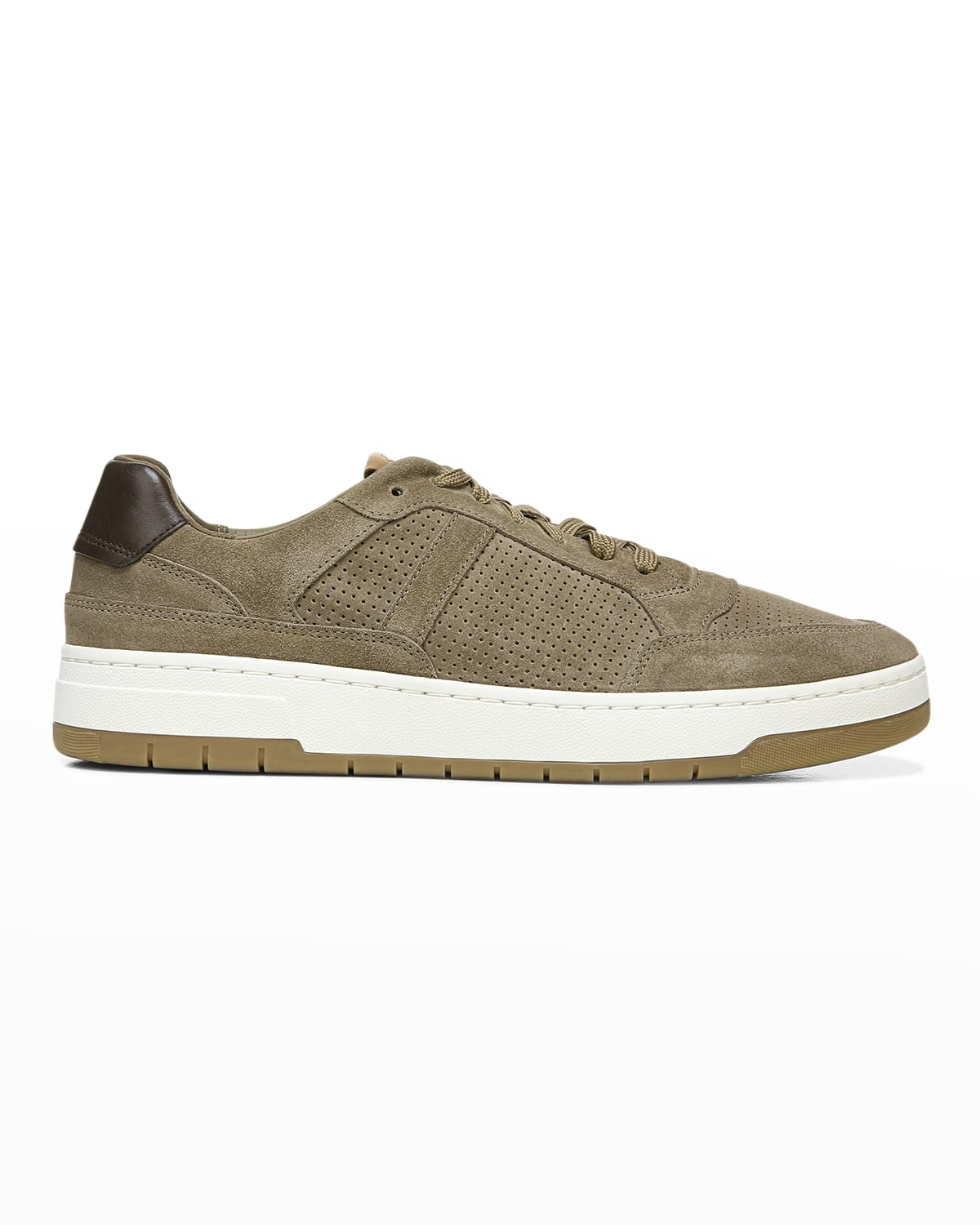 Men's Mason Perforated Suede Low-Top Sneakers