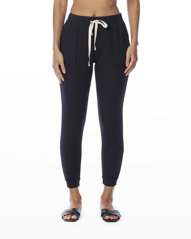 Marcy Ribbed Front Pocket Pants