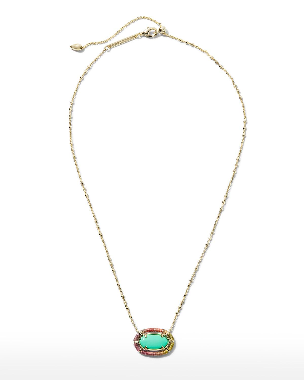Elisa Threaded Pendant Necklace