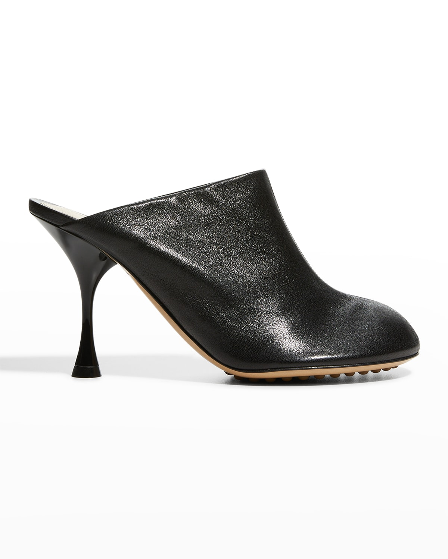 Dot Sock Mules