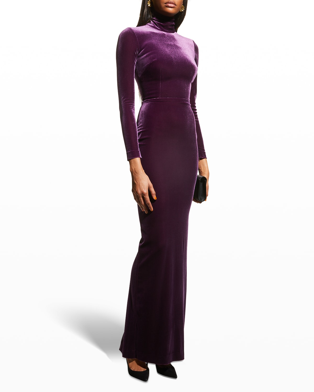 Tierney Velvet Gown