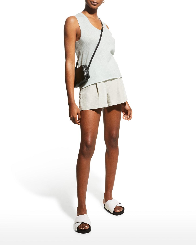 Linen Twill Shorts