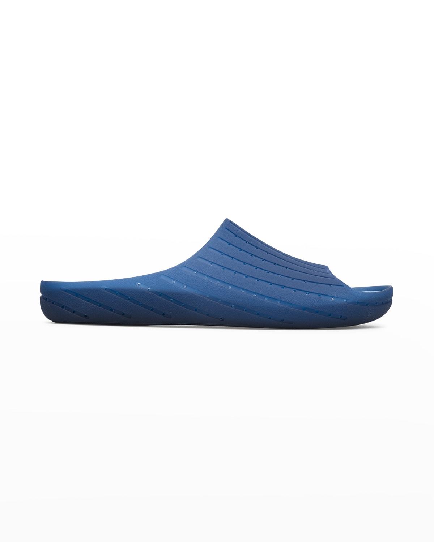 Men's Wabi Perforated Transparent Slippers