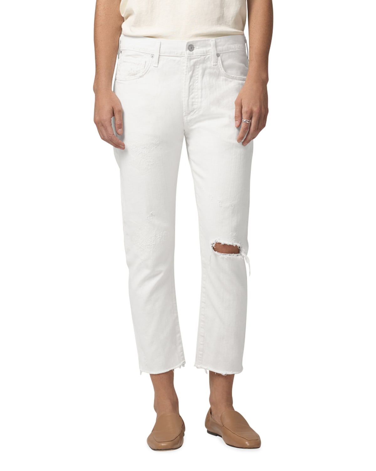 Corey Cropped Slouchy Slim Jeans