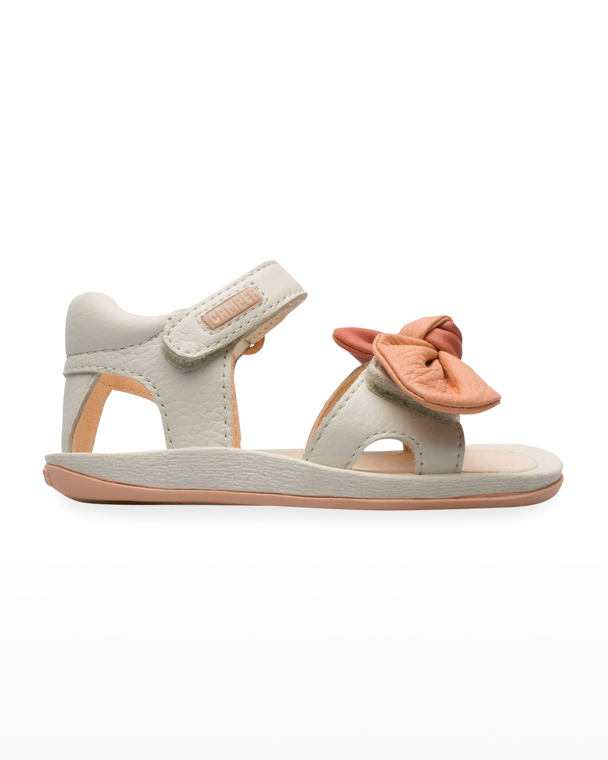 Kid's First Walkers Bow Grip-Strap Sandals