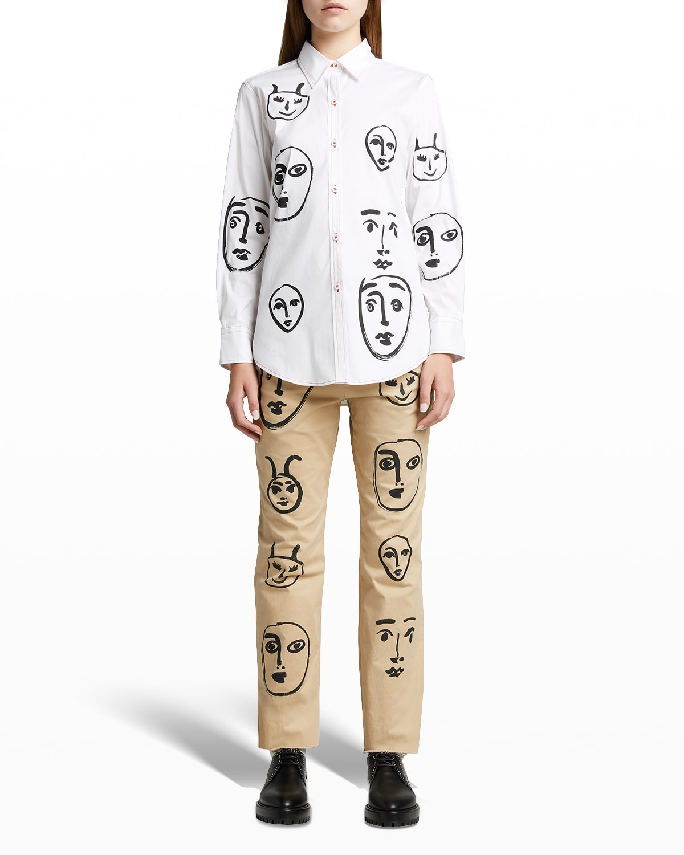 Madoura Silk-Screened Shirt