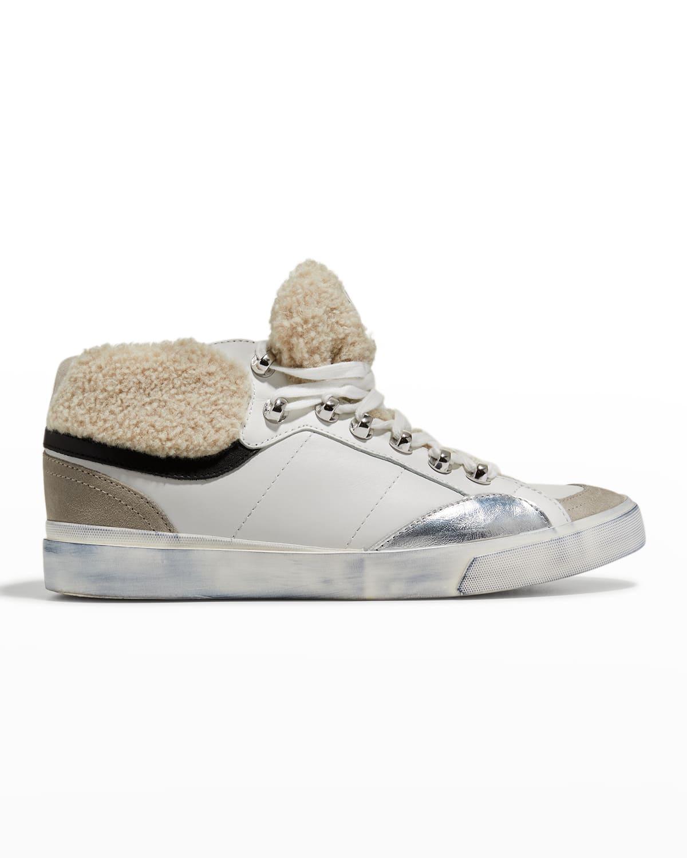 Merin Mixed Media Fashion Sneakers